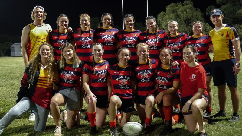 Saints Men & Women 2021 Fisher Shield Rugby