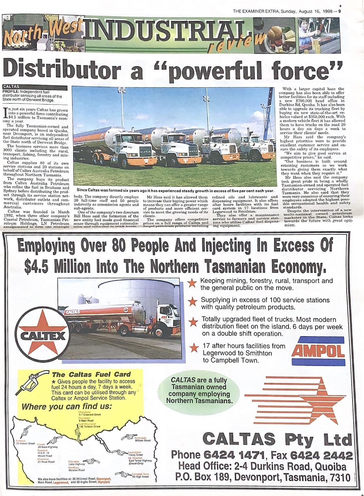 "Distributor a ""powerful force"""