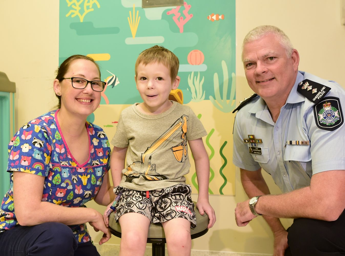 Children's Oncology // Treatment rooms get brighter