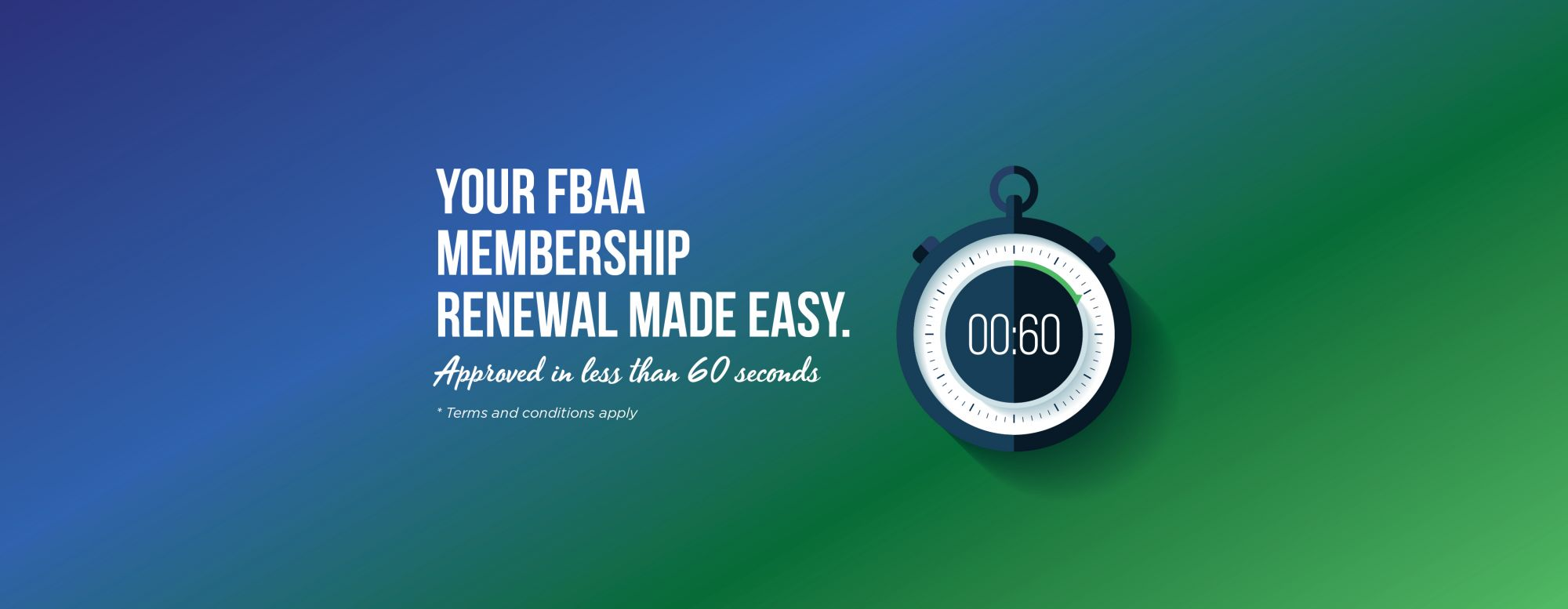 Time to renew with FBAA?
