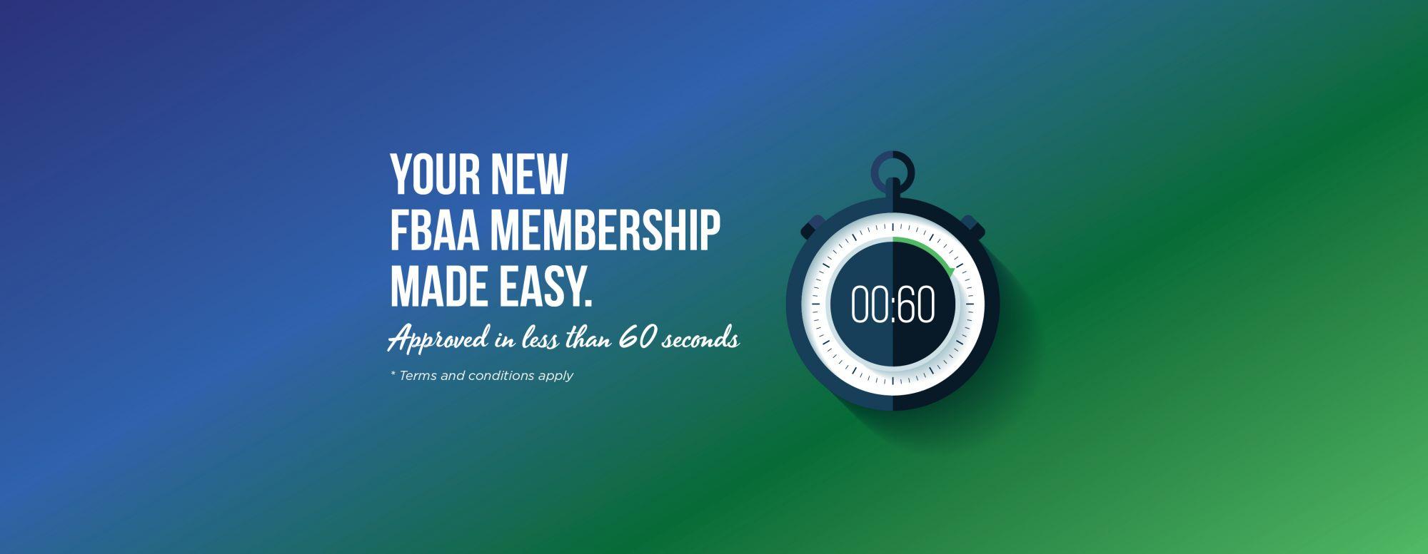 Progress your broking career with an FBAA membership