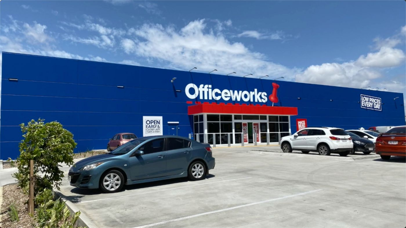 Officeworks Townsville Charters