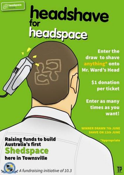 Headshave for Shedspace for Headspace