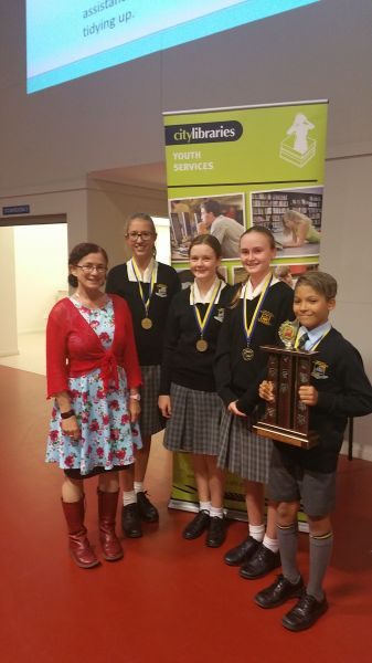 Readers Cup Champions from Townsville Grammar School