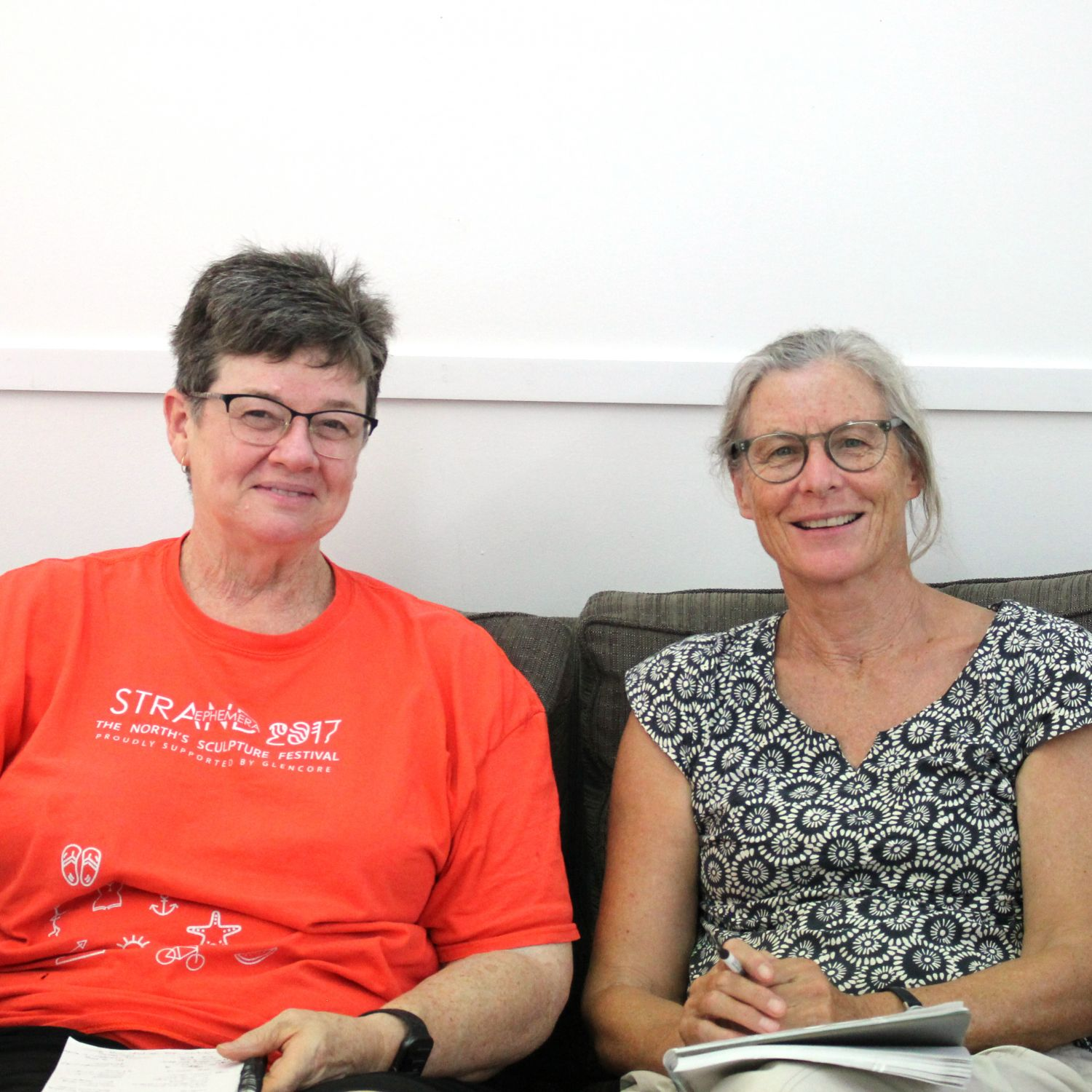 Mentor Jane Hawkins with her mentee Anne Cole
