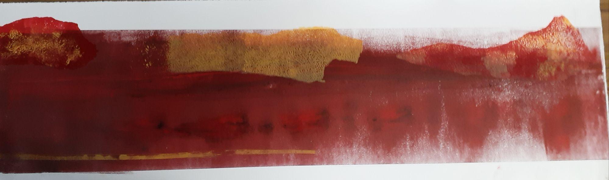 Lynn Scott-Cumming, as yet untitled, 2020, mixed media relief print